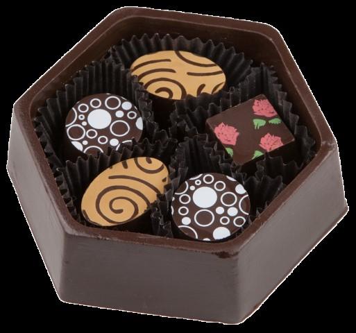 Vegan Snowflake Chocolate Box  - 200241