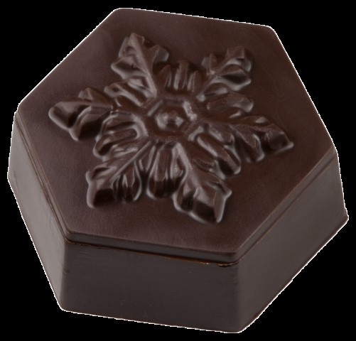 Vegan Snowflake Chocolate Box  - 200241