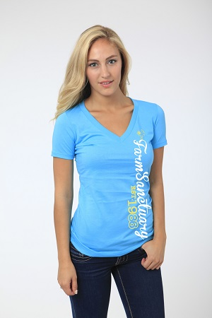 Signature V-Neck Ladies Tee