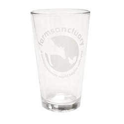 Farm Sanctuary Logo Pint Glass