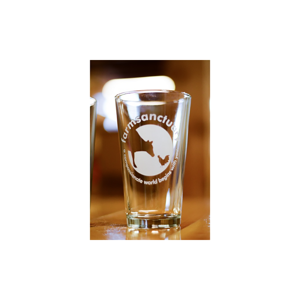 Farm Sanctuary Pint Glass Set