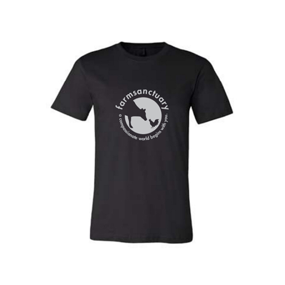 Farm Sanctuary's Sanctuary Life Logo Tee