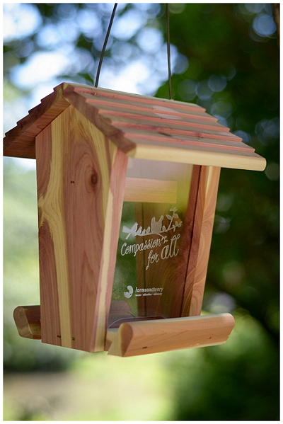 Farm Sanctuary Compassion Bird Feeder