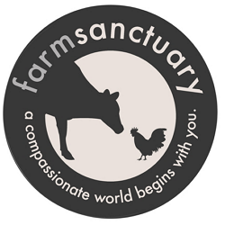 Farm Sanctuary Car Magnet