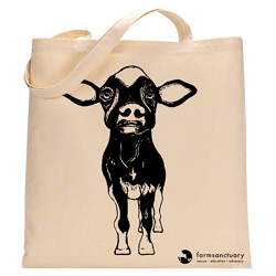Farm Sanctuary Valentino Tote Bag