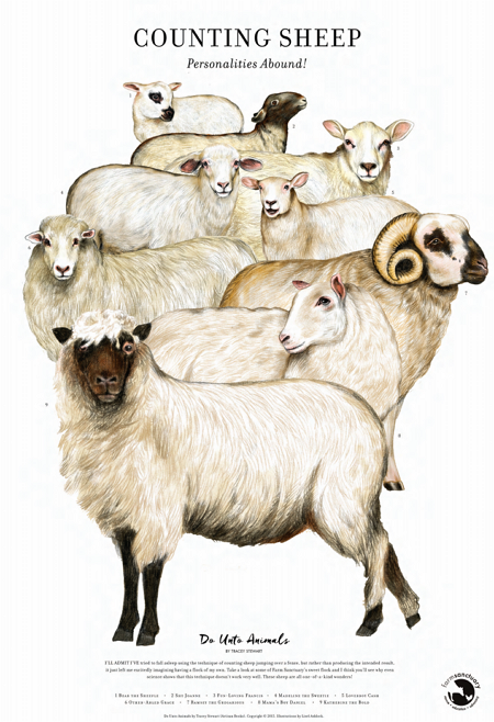 Counting Sheep Fine Art Print