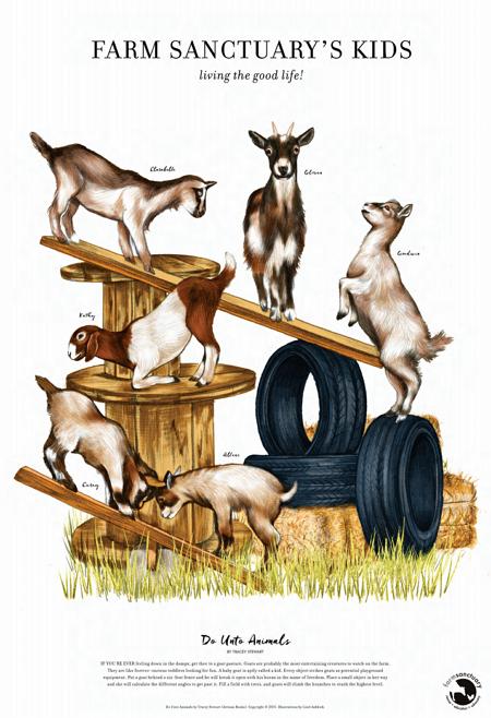 Goat Playground Fine Art Prin