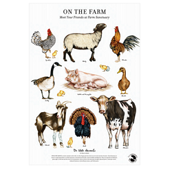 On the Farm Fine Art Print