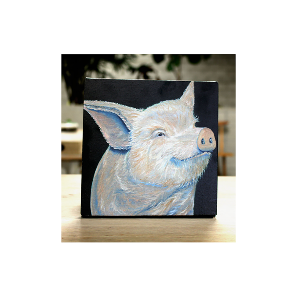 Farm Sanctuary Johnny Canvas Print - Small