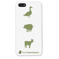 Farm Sanctuary iPhone 5s Case  farm sanctuary iphone 5s case cover, iphone case cover support nonprofit farm sanctuary, support animal cause iphone 5s case cover