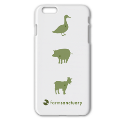 Farm Sanctuary iPhone 6 Case farm sanctuary iphone 6 6s case cover, iphone case cover support nonprofit farm sanctuary, support animal cause iphone 6 6S case cover