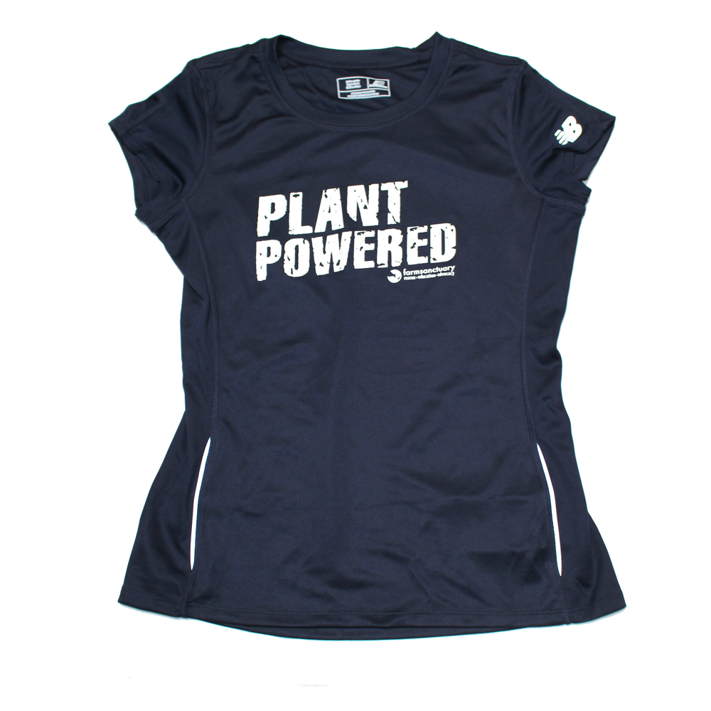 Farm Sanctuary Plant Powered Tee