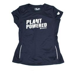 Farm Sanctuary Plant Powered New Balance Technical Tee