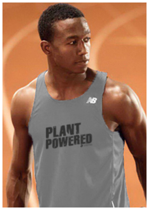 Farm Sanctuary Plant Powered New Balance Technical Tank Sort: 0 Click to Edit