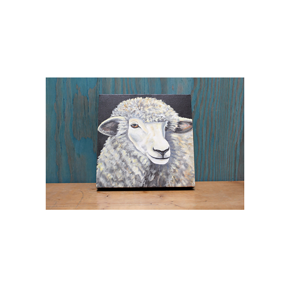 Farm Sanctuary Lucky Lady Canvas Print- Small