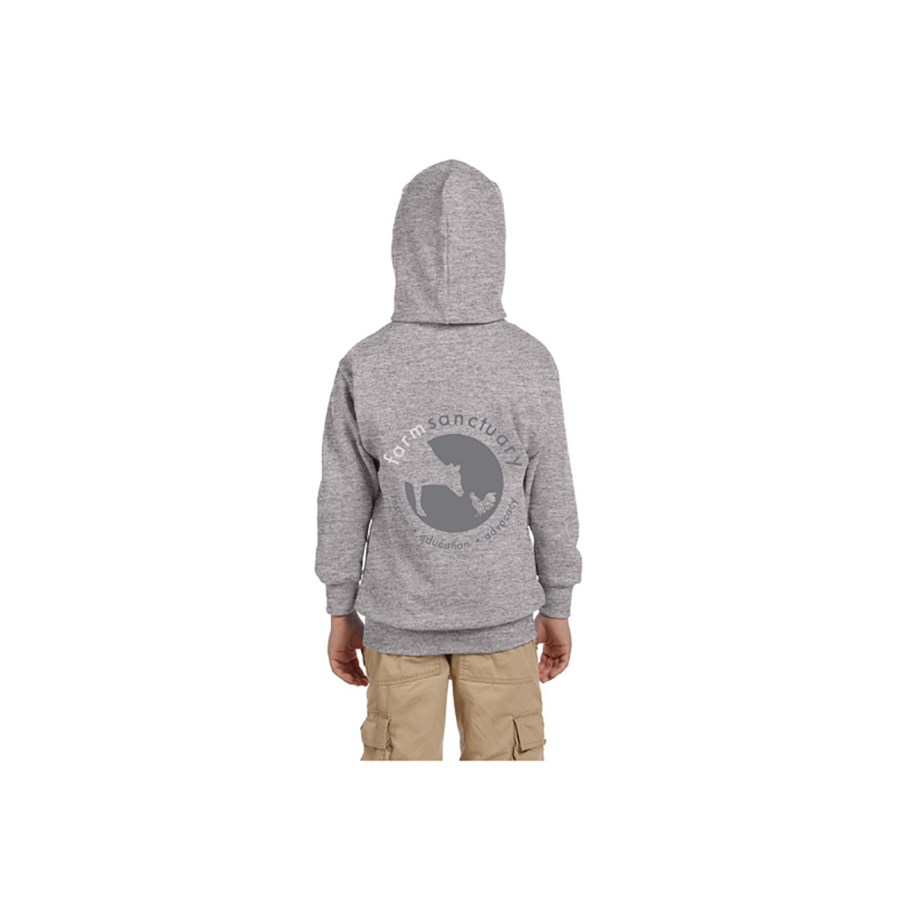 Farm Sanctuary Youth Logo Hoodie