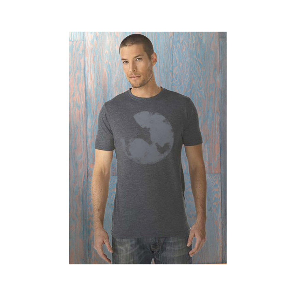 Farm Sanctuary Distressed Logo Tee (Blue)