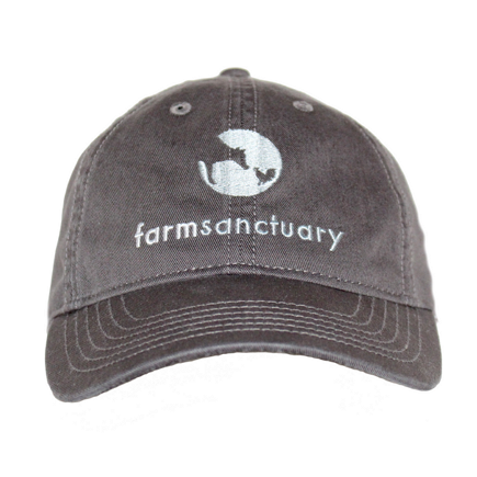 Farm Sanctuary Logo Embroidered Hat