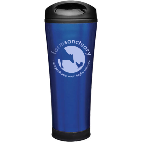 Farm Sanctuary Logo Travel Mug