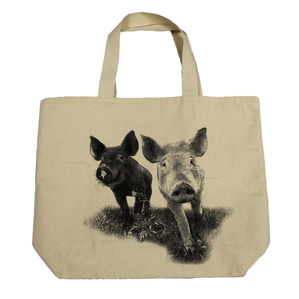 Farm Sanctuary Anna and Maybelle Tote Bag