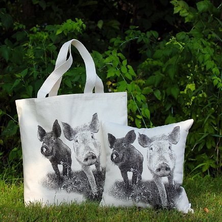 Farm Sanctuary Anna and Maybelle Tote Ba