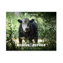 Farm Sanctuary 2017 Rescue & Refuge Calendar