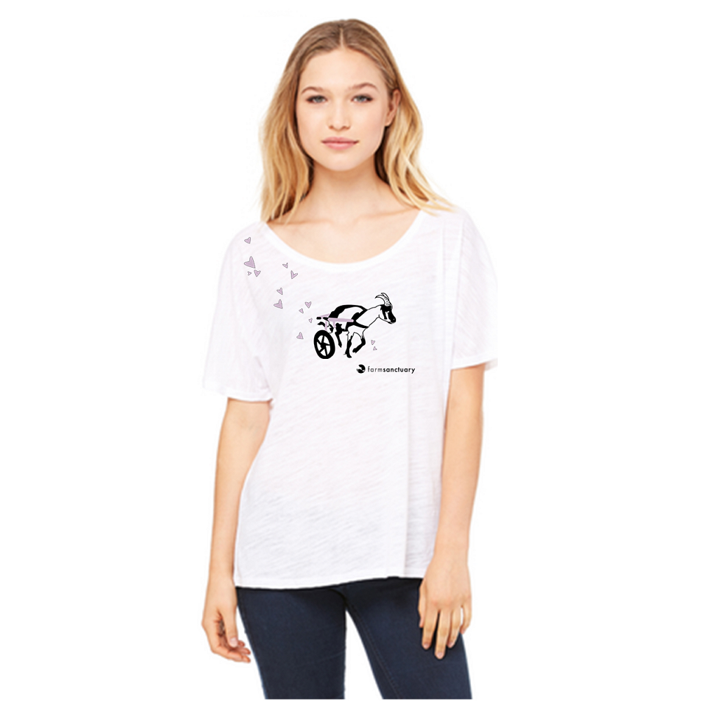 Farm Sanctuary Benedict Ladies Tee