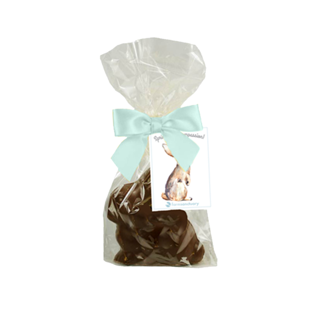 Spring into Compassion! Vegan Chocolate Bunny <br>Vegan, Organic ...