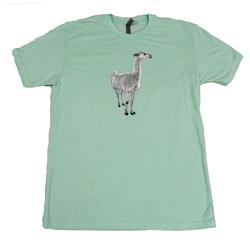 Farm Sanctuary Yoda Llama Unisex Tee