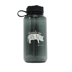 Farm Sanctuary Animals are Friends Water Bottle