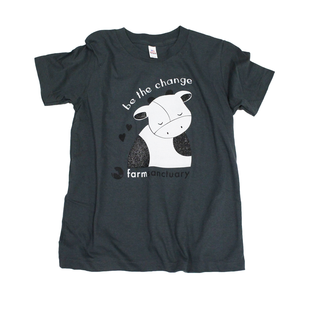 Farm Sanctuary Be The Change Youth Tee