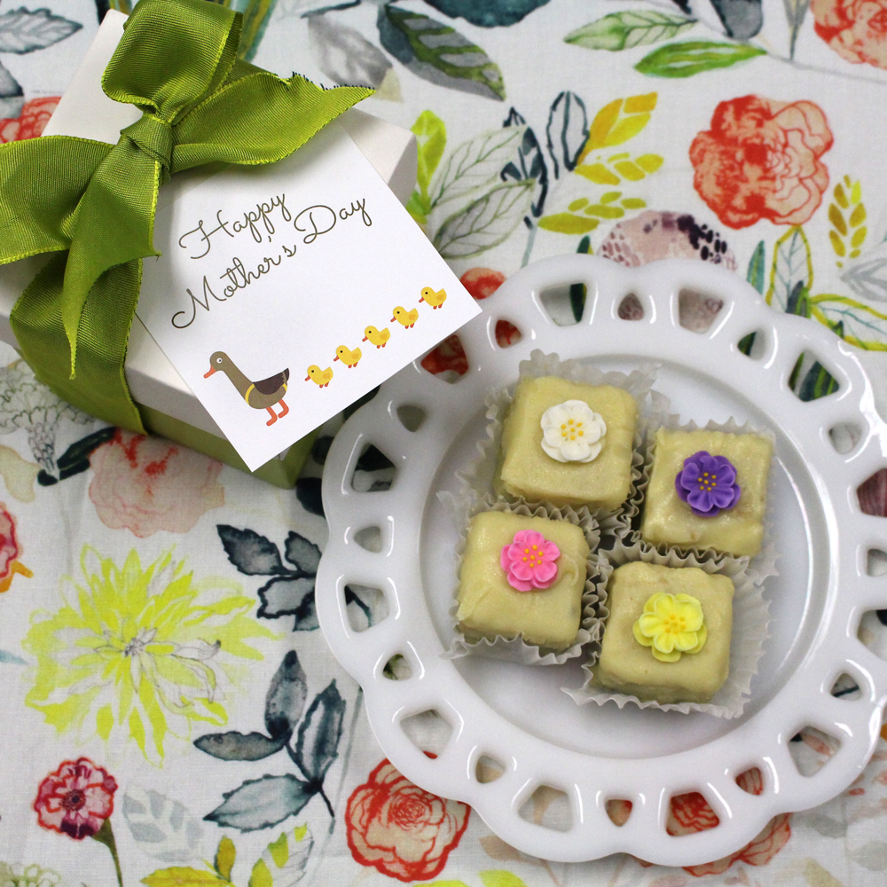Farm Sanctuary Mother's Day Vegan Petit Four Cakes