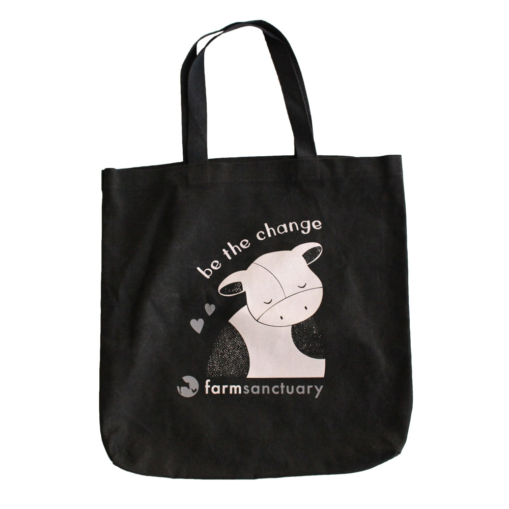 Farm Sanctuary Be the Change Tote Bag