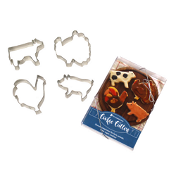 Farm Sanctuary Cookie Cutter Set