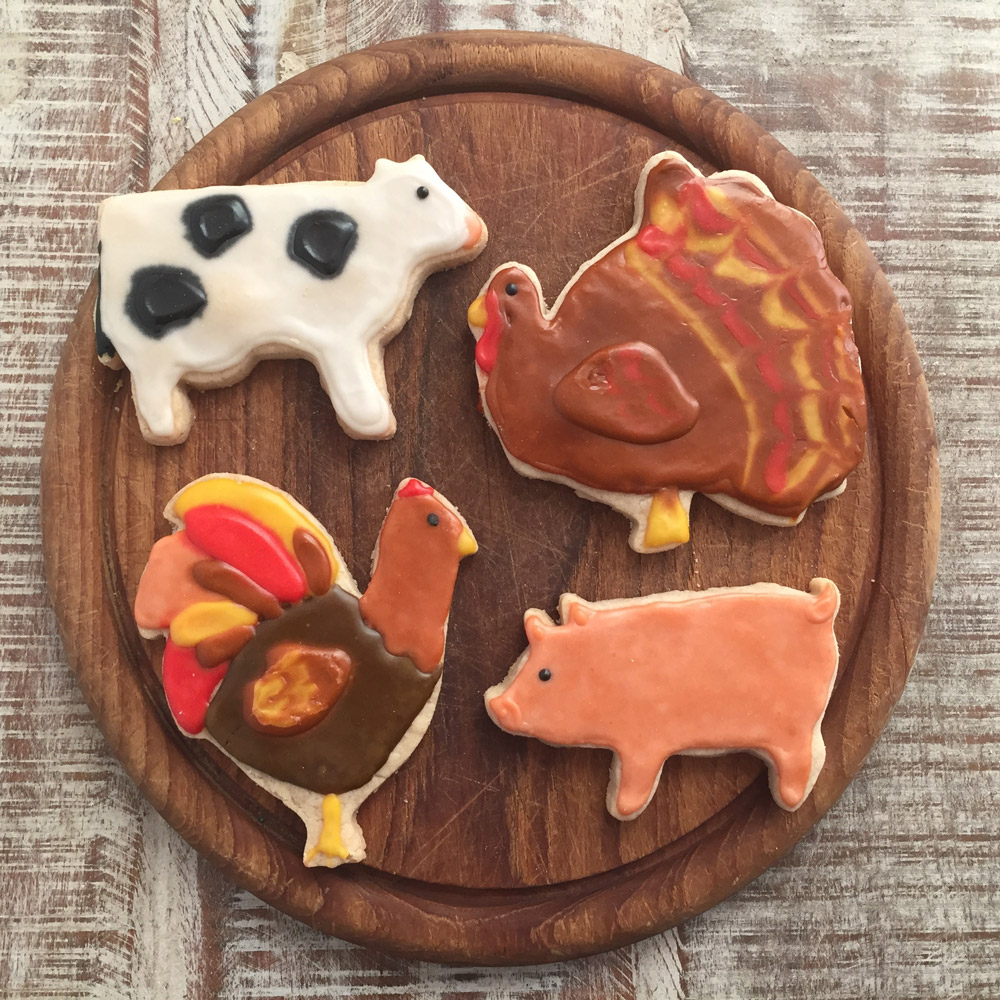 Farm Sanctuary Cookie Cutter Set - 200415