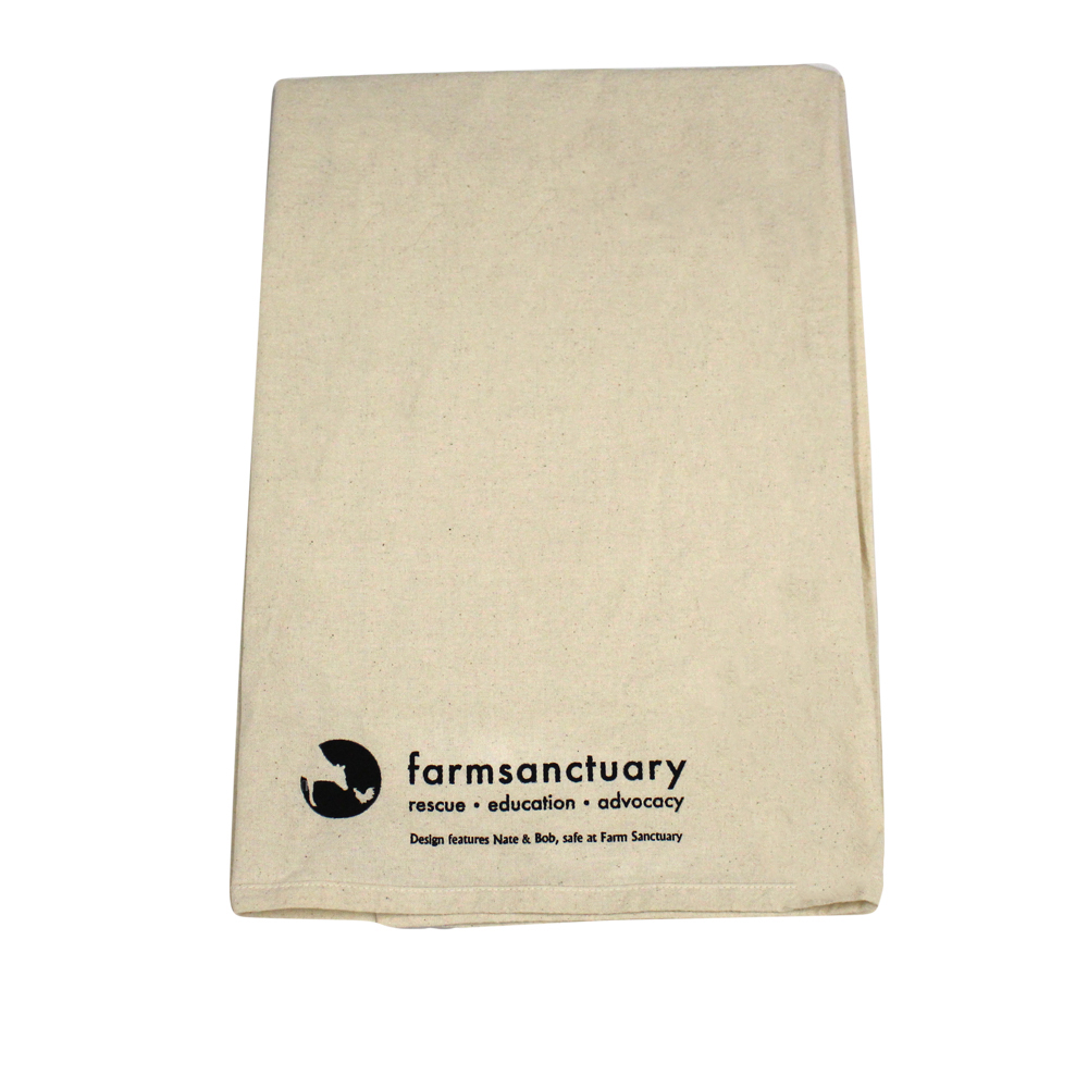 Farm Sanctuary Nate and Bob Tea Towel