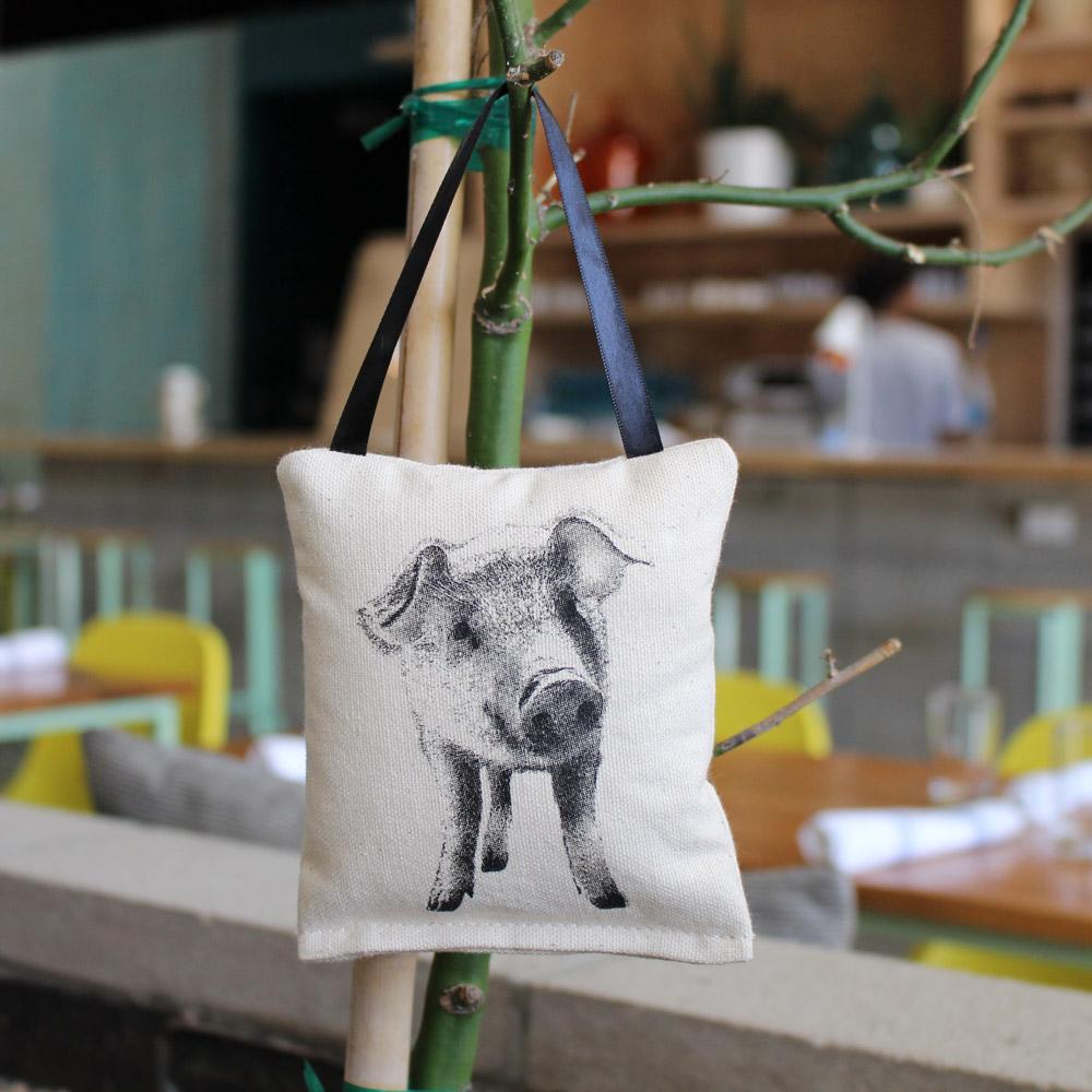 Farm Sanctuary Junip Pig Ornament