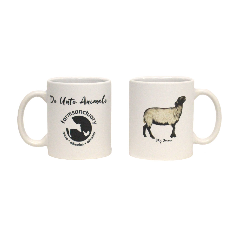Farm Sanctuary Do Unto Animals Mug Set