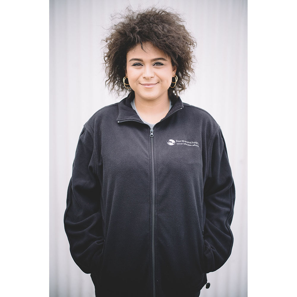 Farm Sanctuary Logo Fleece Unisex Jacket