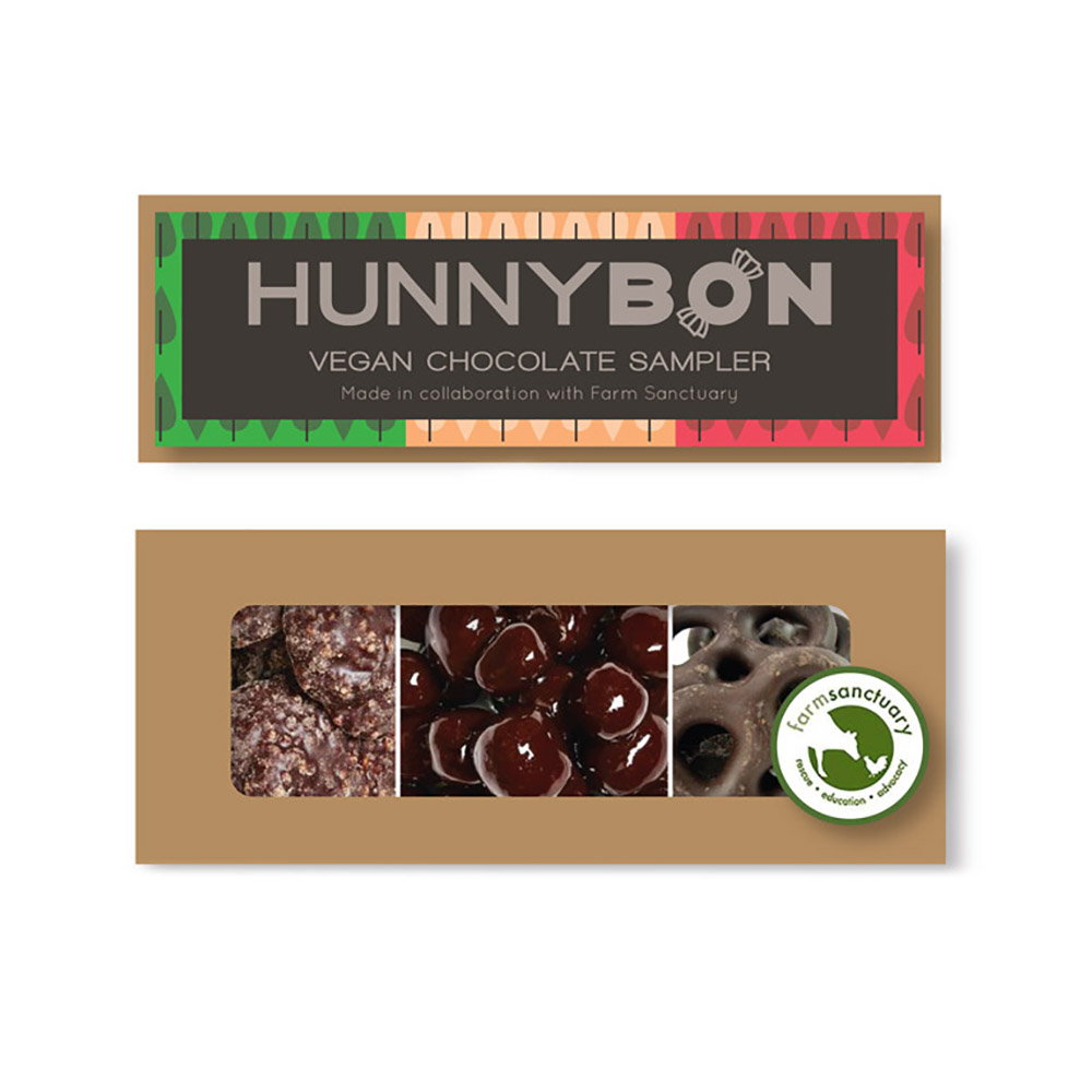 Farm Sanctuary HunnyBon Vegan Chocolate Sampler