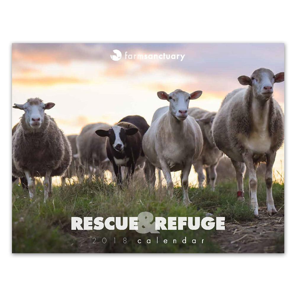 2018 Rescue & Refuge Calendar