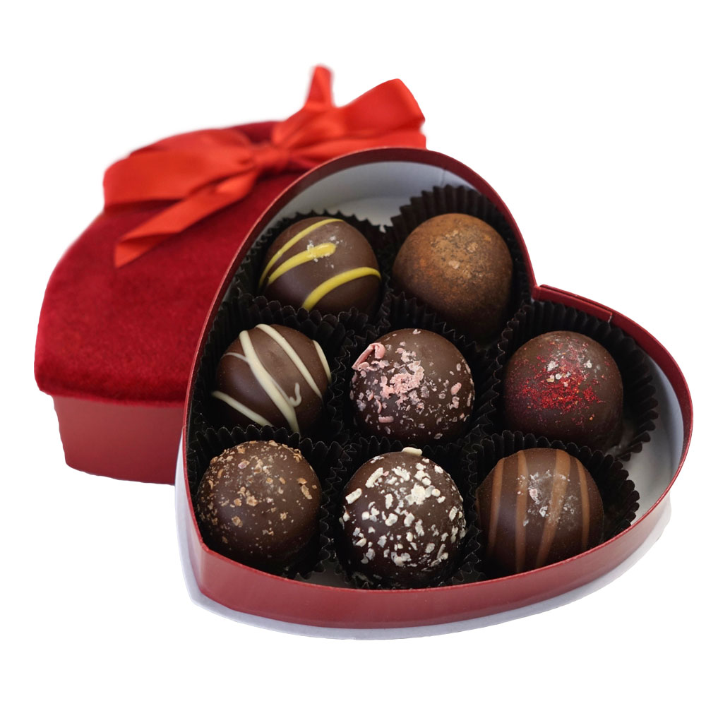 Farm Sanctuary Valentine's Day Truffles