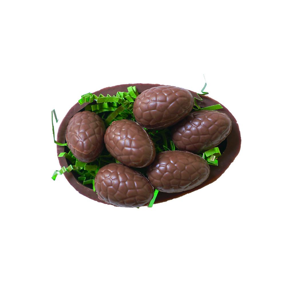 Farm Sanctuary Vegan Chocolate Egg filled with Peanut Butter Eggs