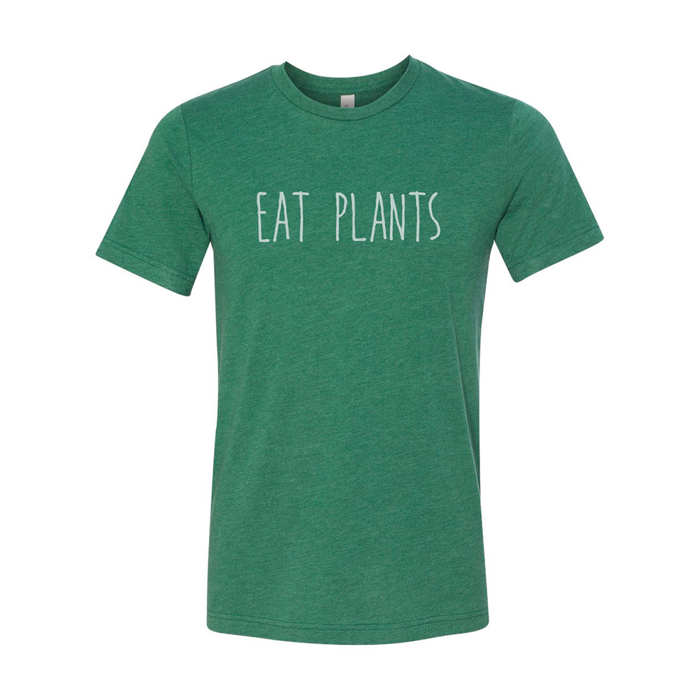 Farm Sanctuary Eat Plants Unisex Tee