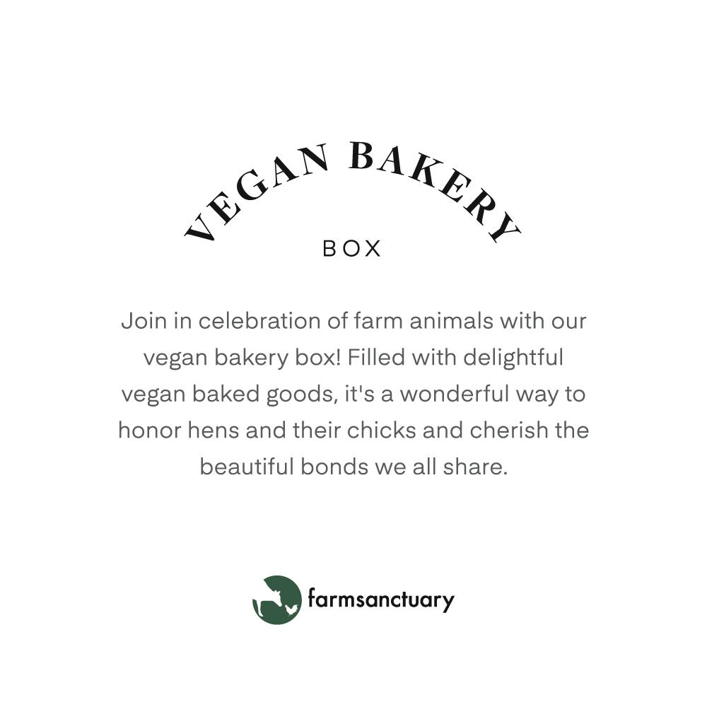 Farm Sanctuary's Vegan Bakery Box