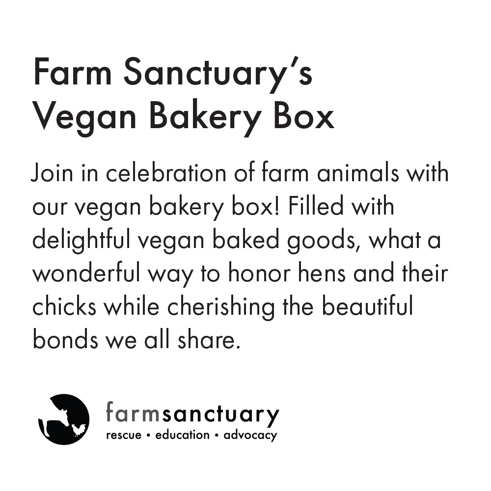 Farm Sanctuary's Vegan Bakery Box