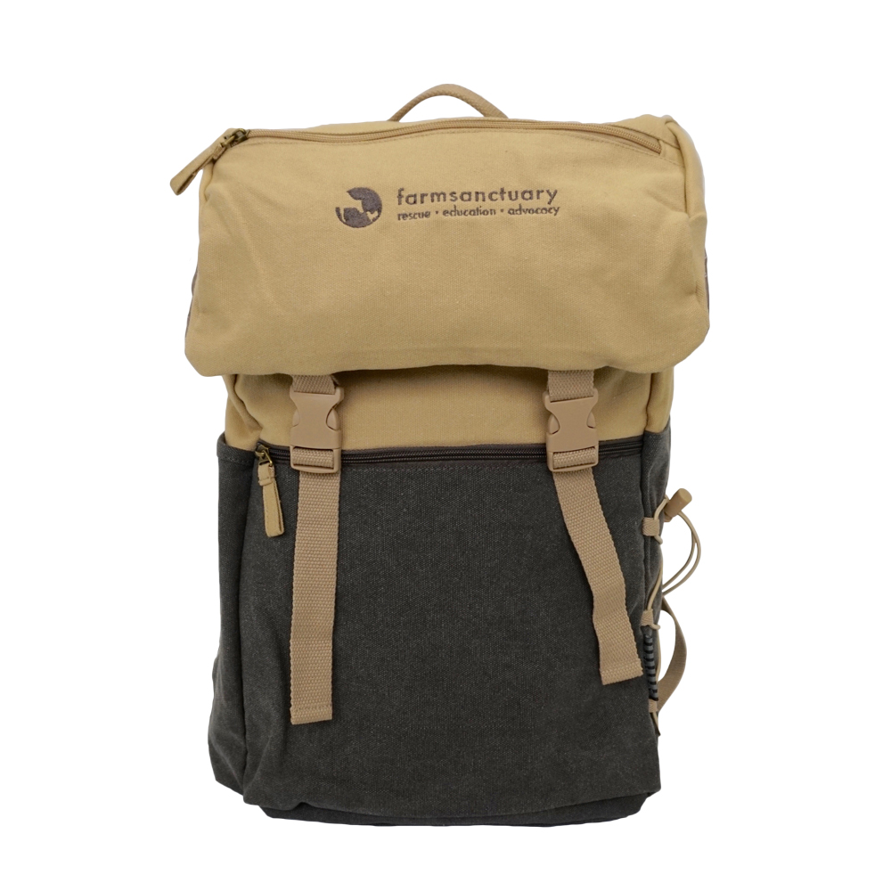 Farm Sanctuary Logo Backpack