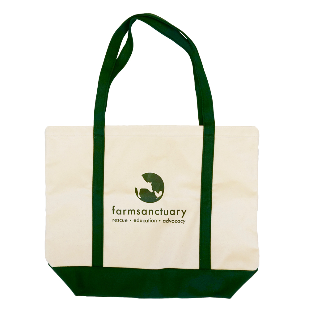 Farm Sanctuary Logo Boat Bag