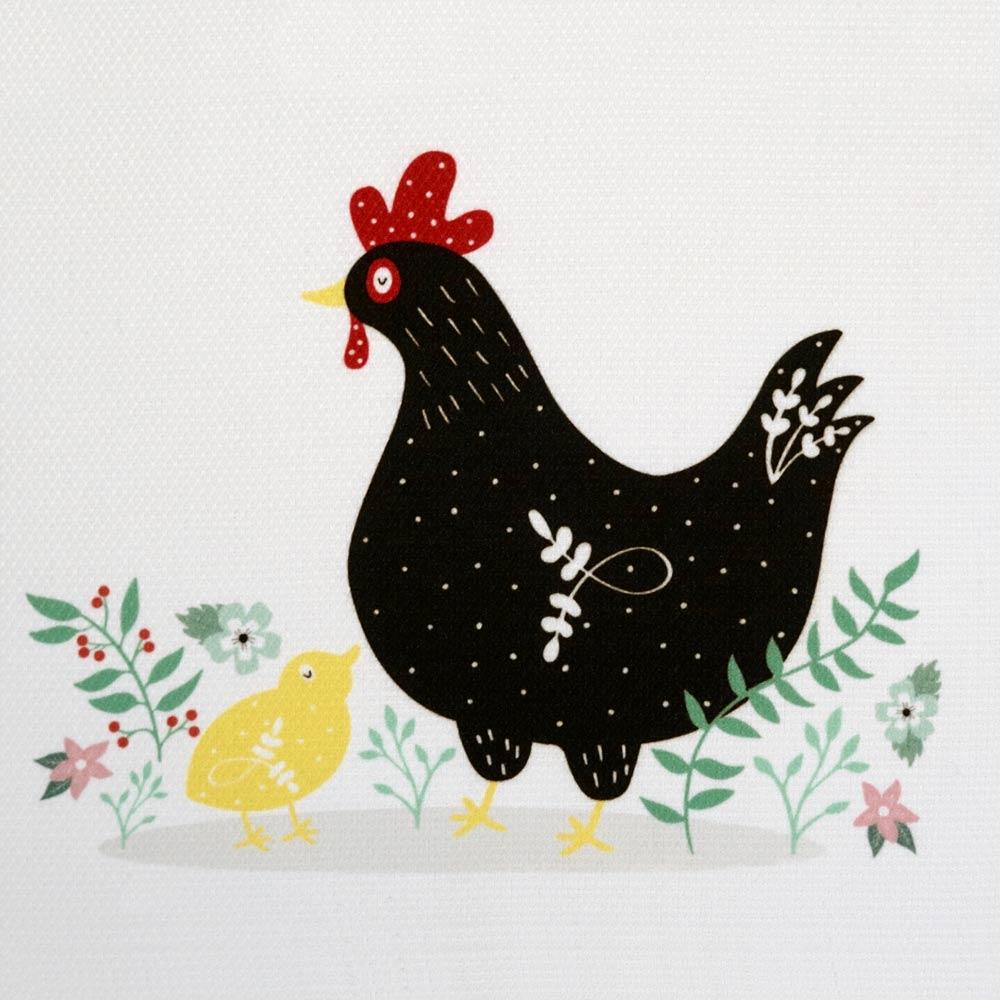 Hen & Chick Tea Towel - 200495