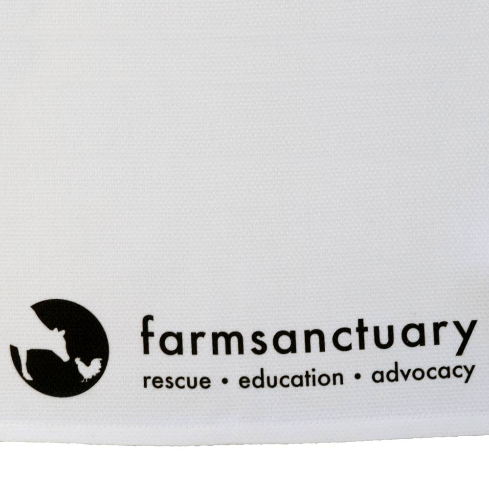 Farm Sanctuary Hen & Chick Tea Towel